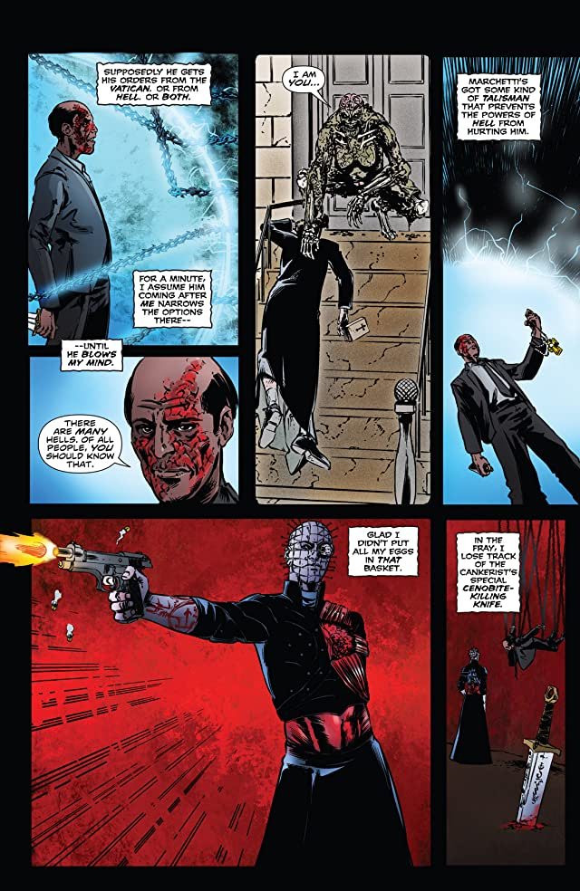 Hellraiser: The Dark Watch #4