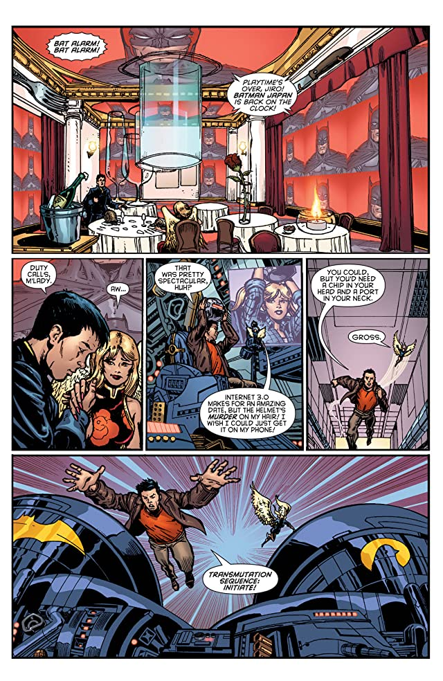 click for super-sized previews of Batman Incorporated (2012-2013) #11