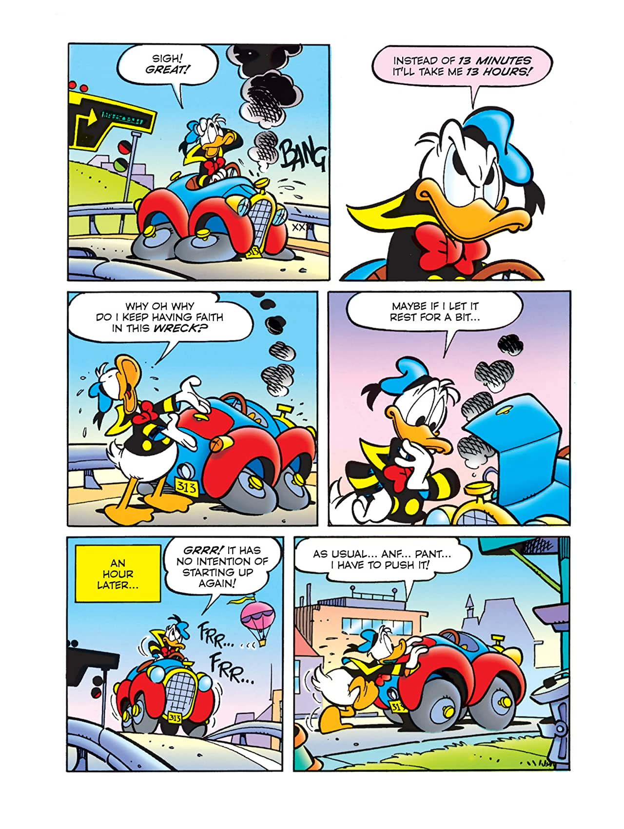 Donald Duck and The Secret of the 313