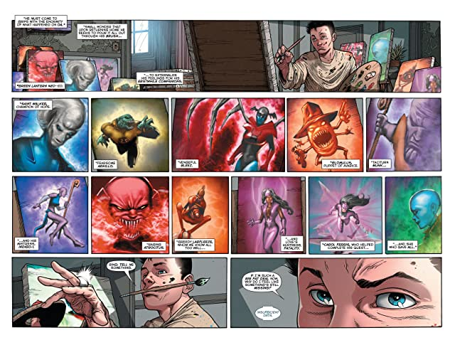 click for super-sized previews of Green Lantern: New Guardians (2011-2015) #20