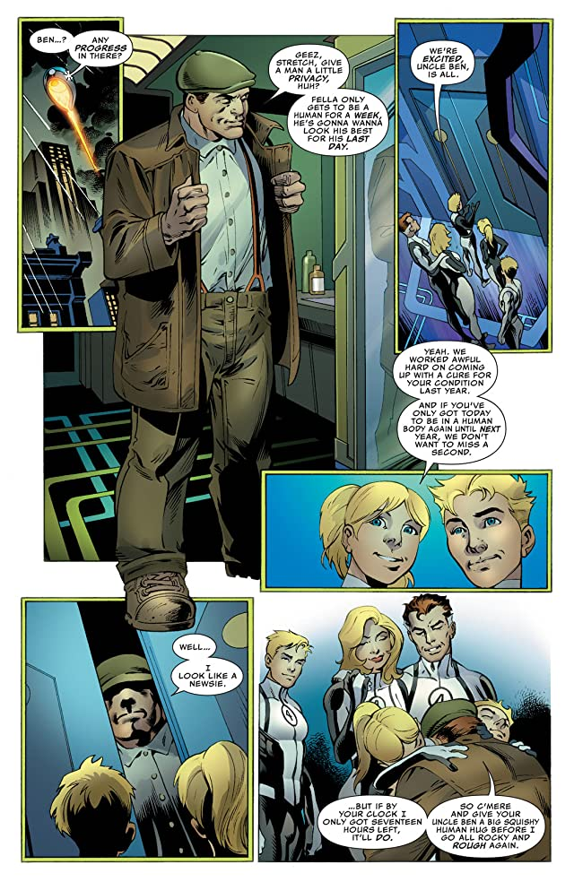 click for super-sized previews of Fantastic Four (2012-2014) #8