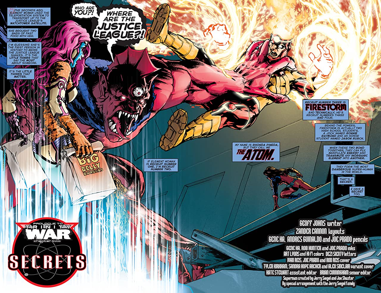 Justice League (2011-) #20