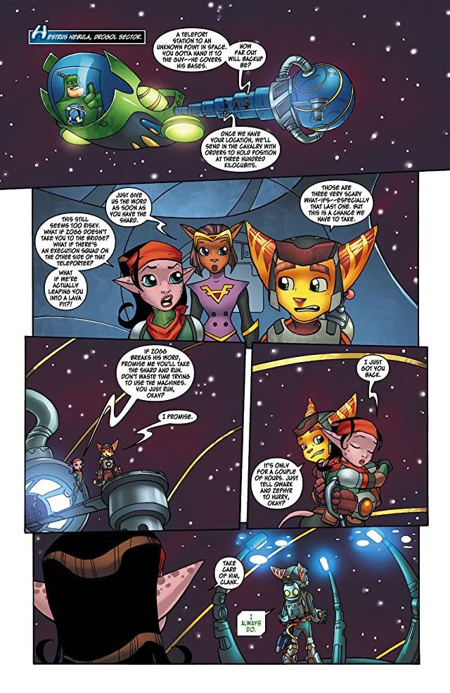 click for super-sized previews of Ratchet & Clank #4 (of 6)