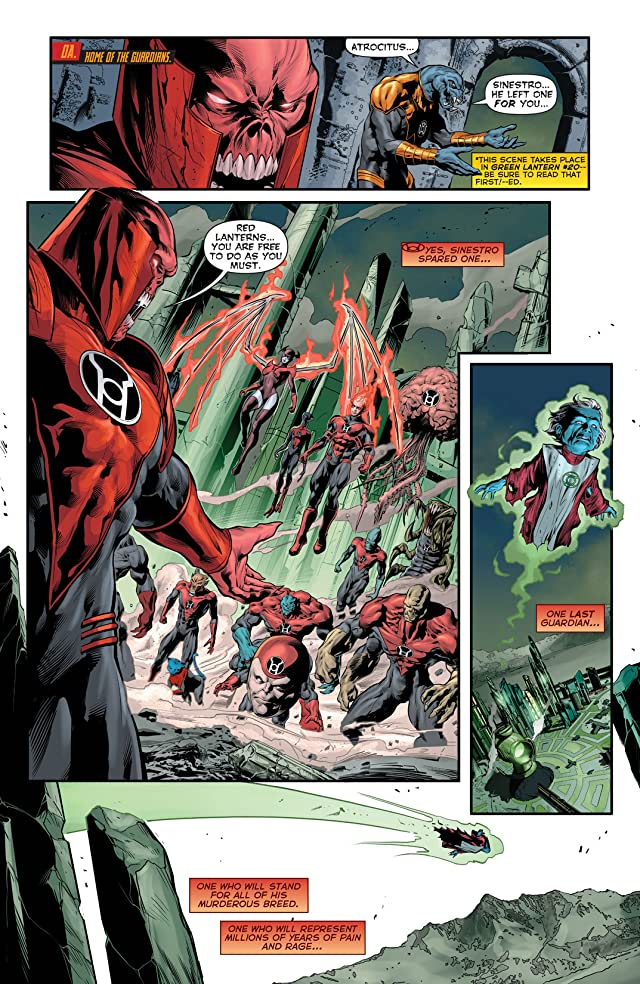 click for super-sized previews of Red Lanterns (2011-2015) #20