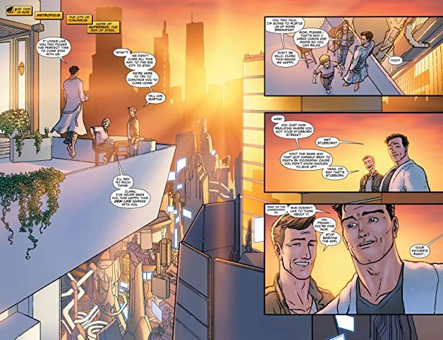 click for super-sized previews of Superman (2011-) #20