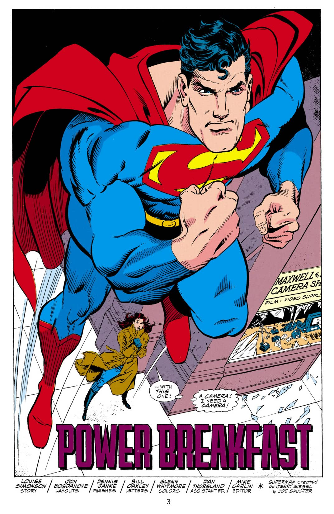 Superman: The Man of Steel (1991-2003) #9