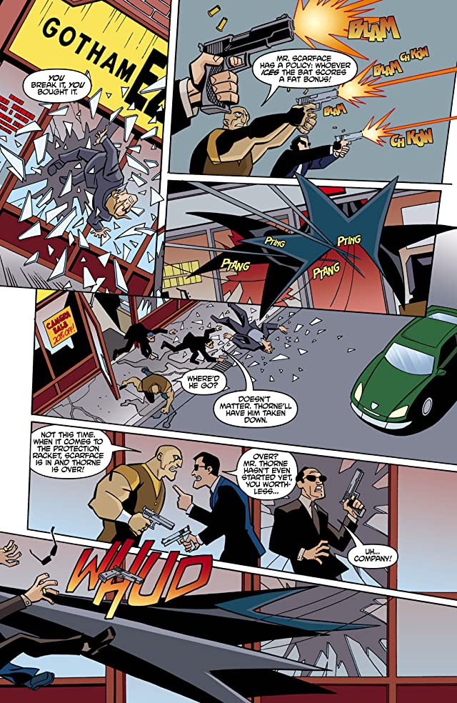 click for super-sized previews of The Batman Strikes! #5
