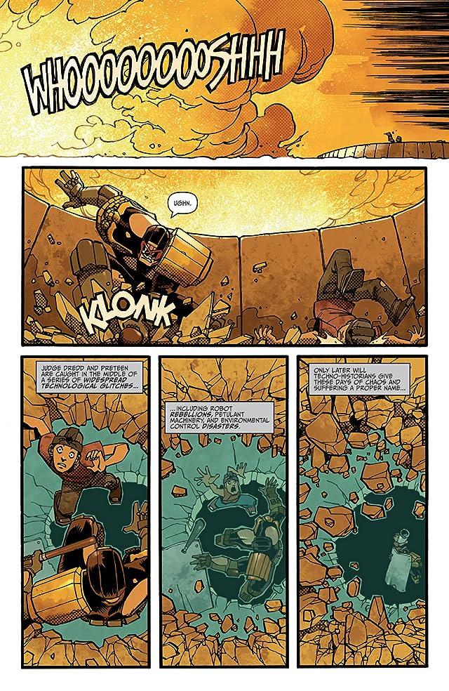 click for super-sized previews of Judge Dredd #7