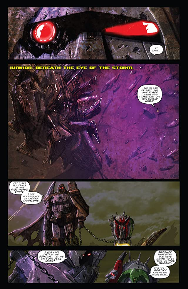 click for super-sized previews of Transformers: Monstrosity #7 (of 12)