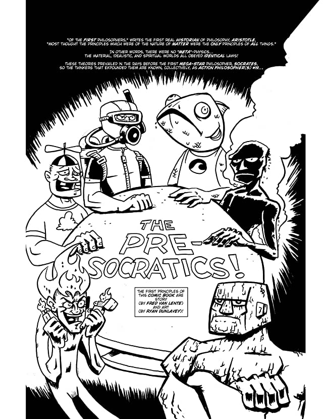 click for super-sized previews of Action Philosophers #1: The Pre-socratics and Plato!