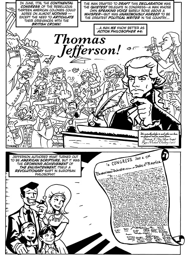 Action Philosophers #7: Machiavelli & Thomas Jefferson!
