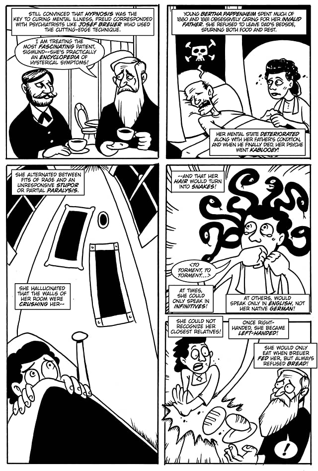 click for super-sized previews of Action Philosophers #4: Self-Help for Stupid, Ugly Losers! (Freud, Jung and Joseph Campbell)