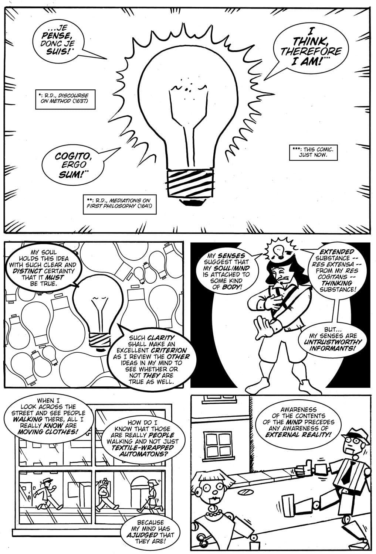 Action Philosophers #8: Descartes & Sartre!