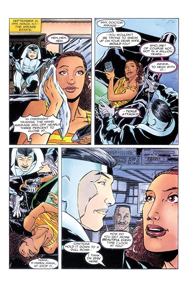 The Second Life of Doctor Mirage (1993-1995) #14