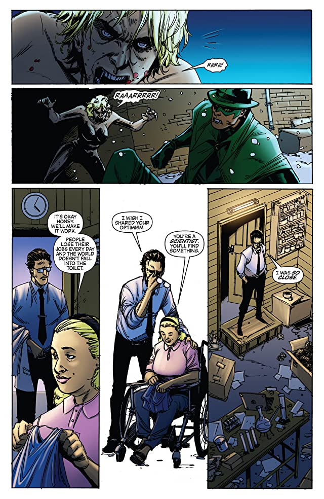 click for super-sized previews of Green Hornet: Legacy #37