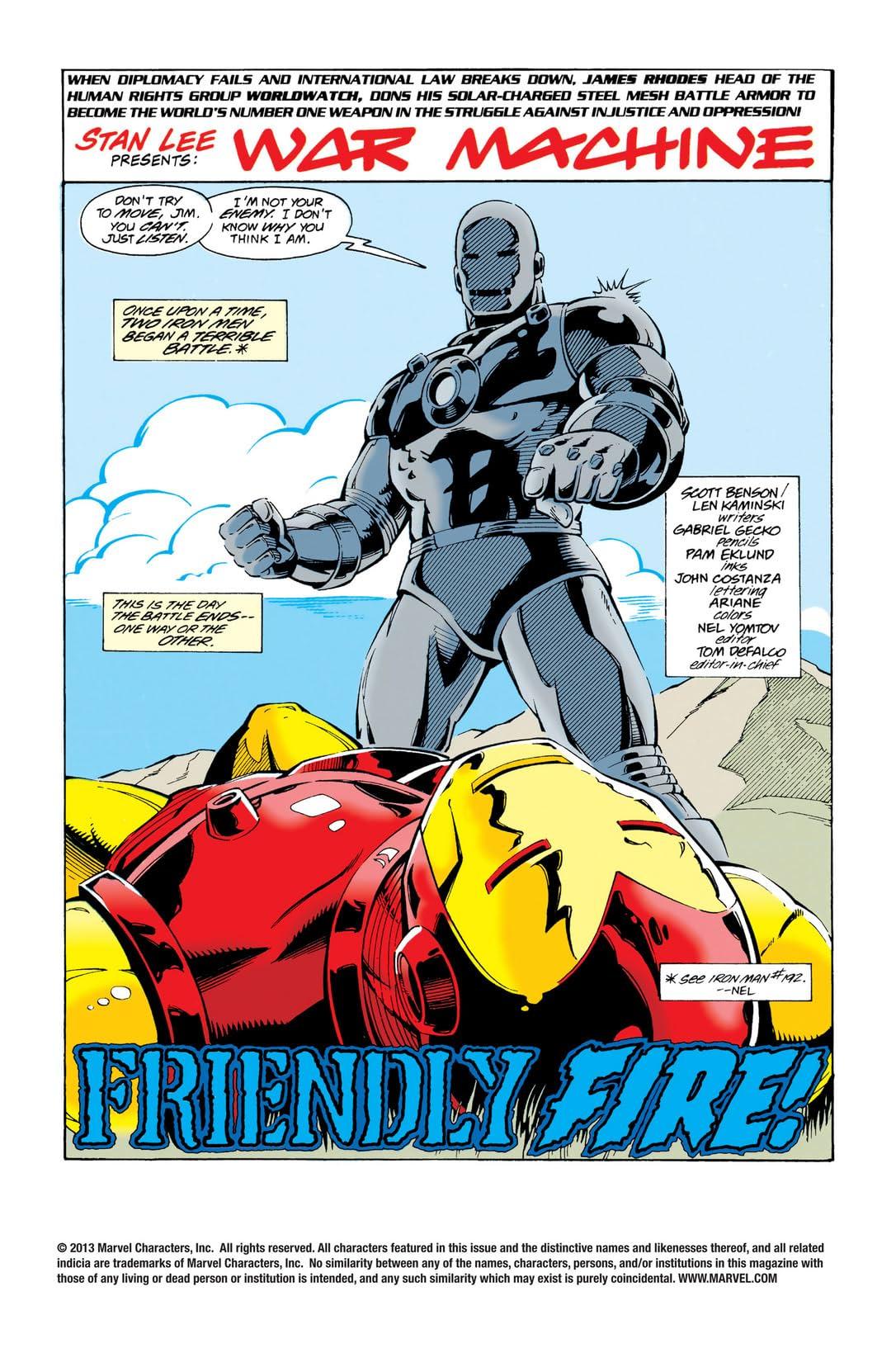 War Machine (1994-1996) #8