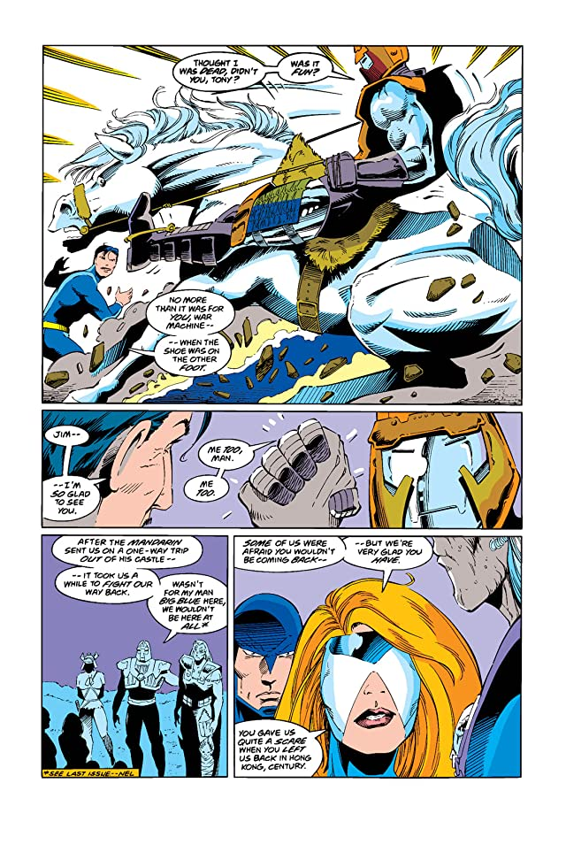 click for super-sized previews of War Machine (1994-1996) #10