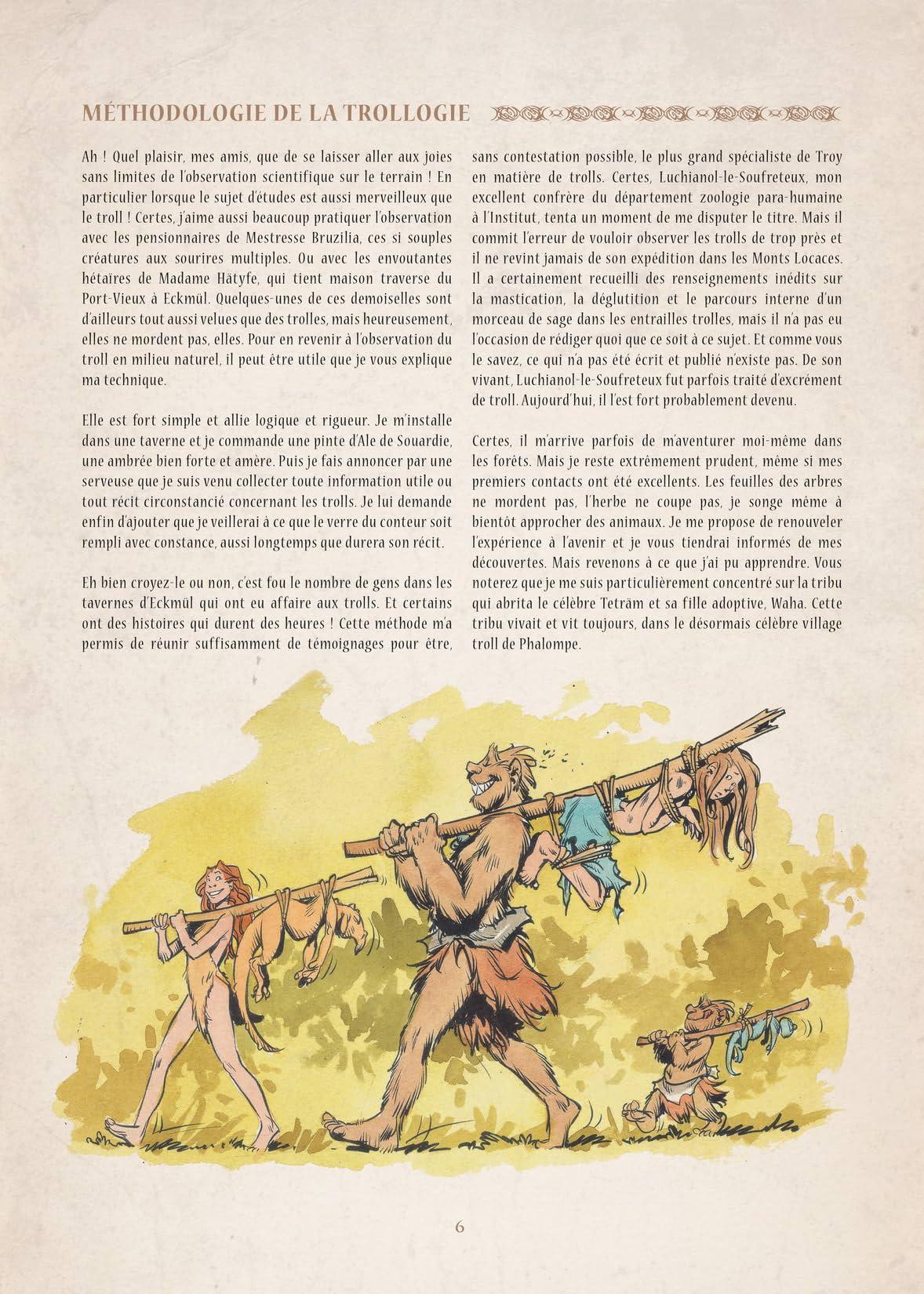 Encyclopédie Anarchique du Monde de Troy Vol. 2: Les Trolls