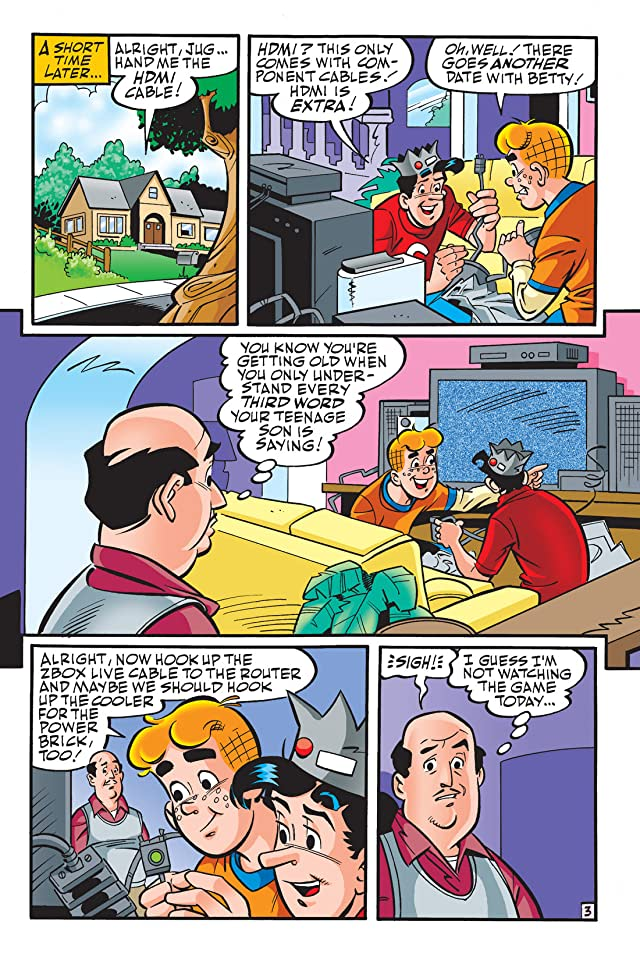 click for super-sized previews of Archie: Cyber Adventures