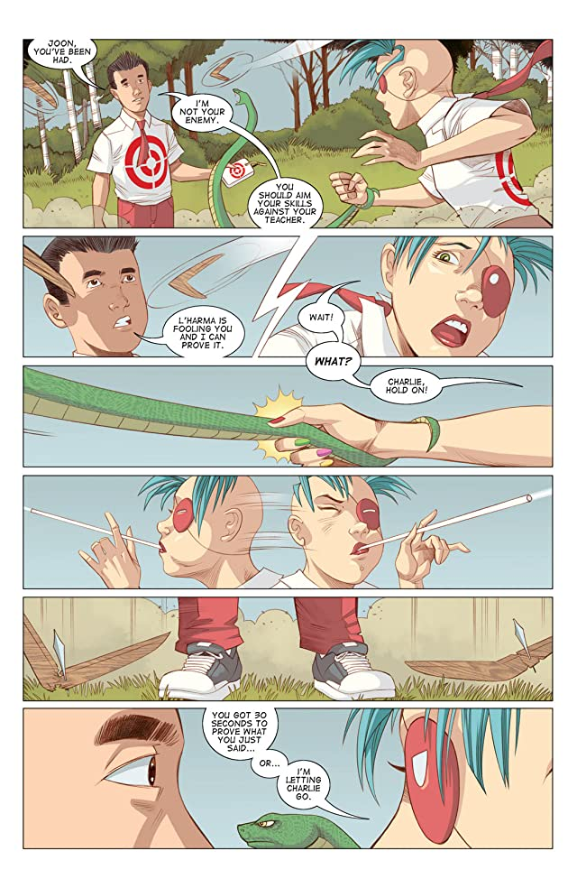 click for super-sized previews of Five Weapons #4