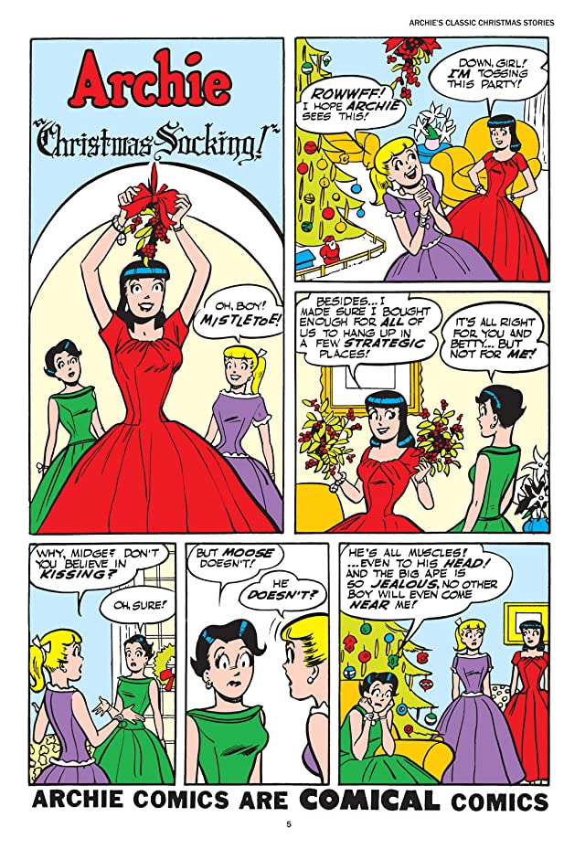 click for super-sized previews of Archie's Classic Christmas Stories Vol. 1