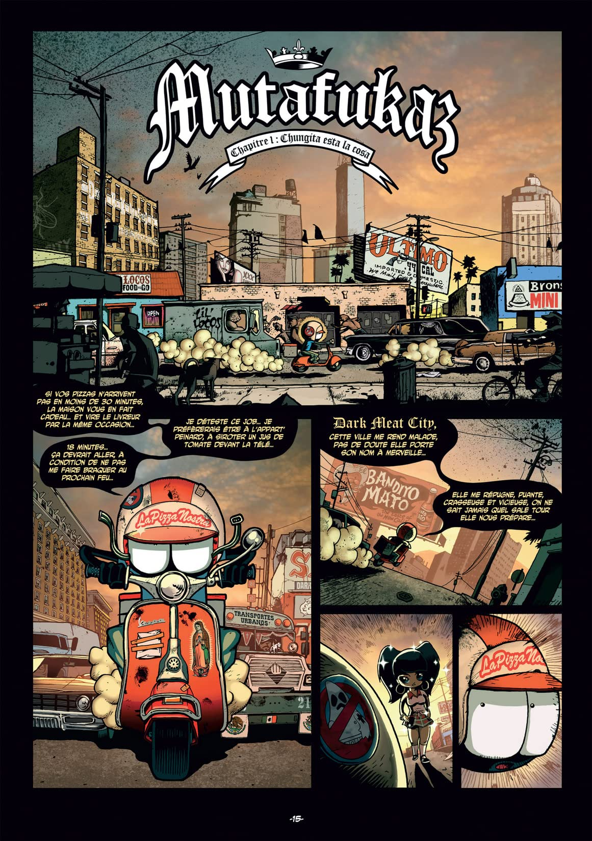 Mutafukaz Vol. 1: Dark Meat City