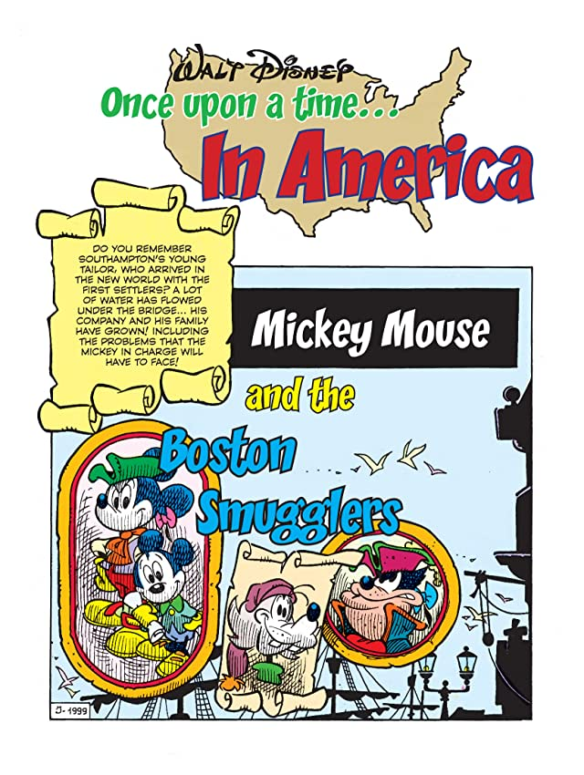 Once Upon a Time... in America #2: Mickey Mouse and the Boston Smugglers
