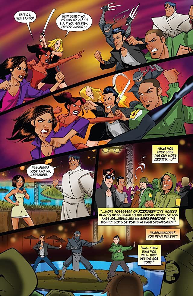 click for super-sized previews of Freelancers #6