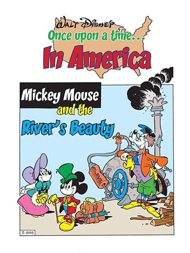 Once Upon a Time... in America #6: Mickey Mouse and the River's Beauty