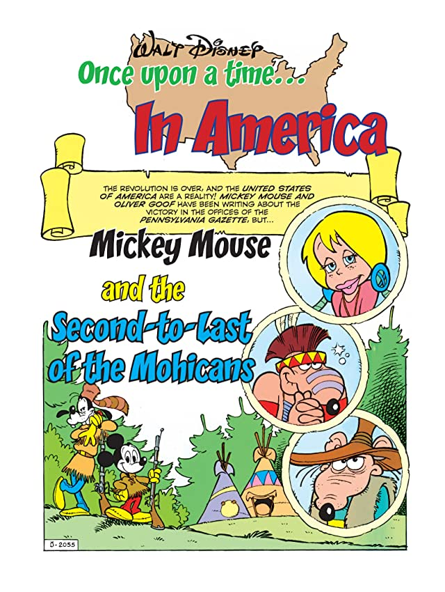 click for super-sized previews of Once Upon a Time... in America #5: Mickey Mouse and the Second-to-Last of the Mohicans