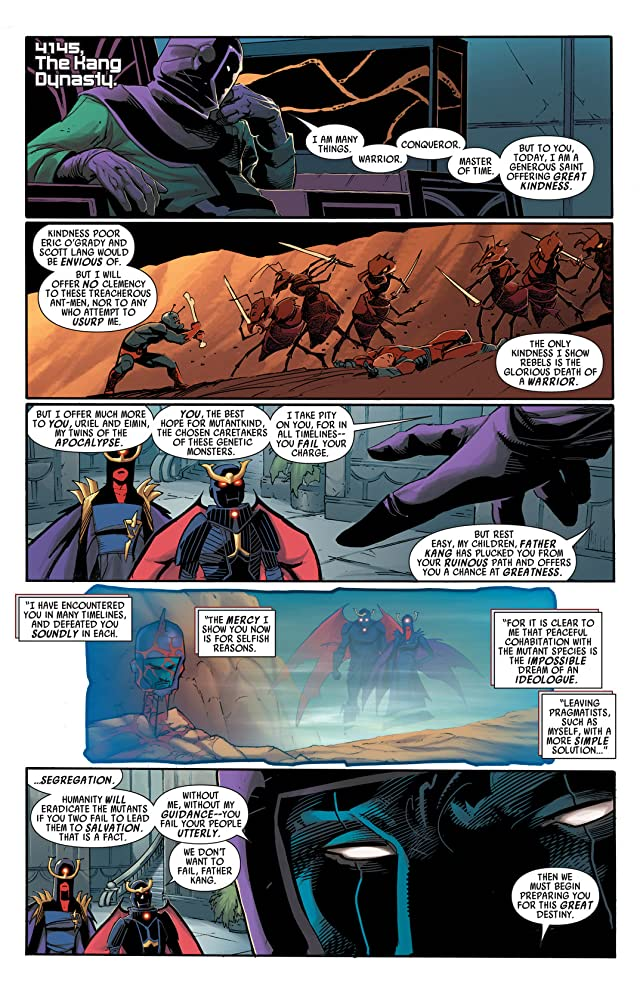 click for super-sized previews of Uncanny Avengers #8AU