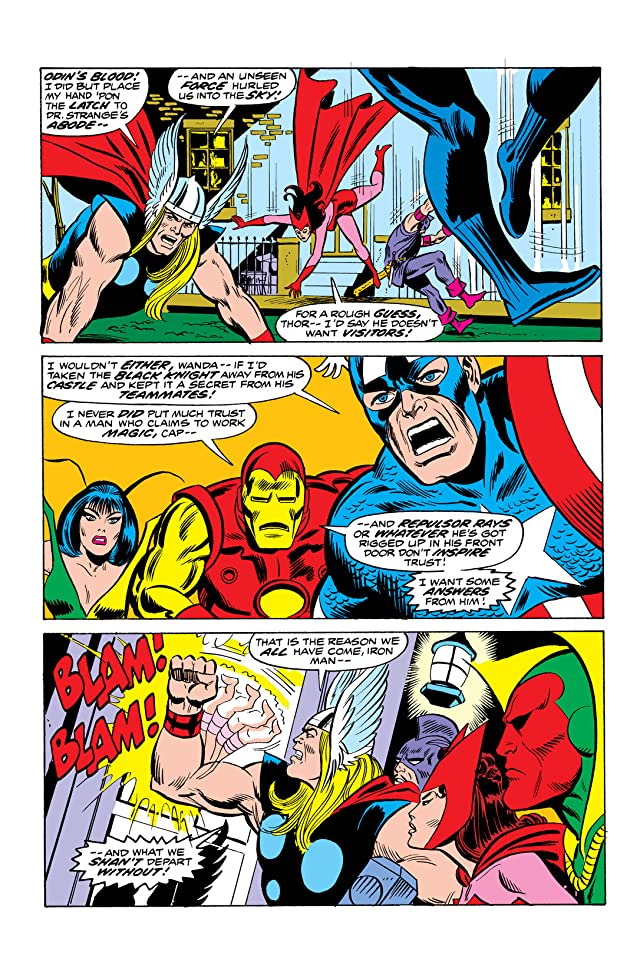 click for super-sized previews of Avengers (1963-1996) #116