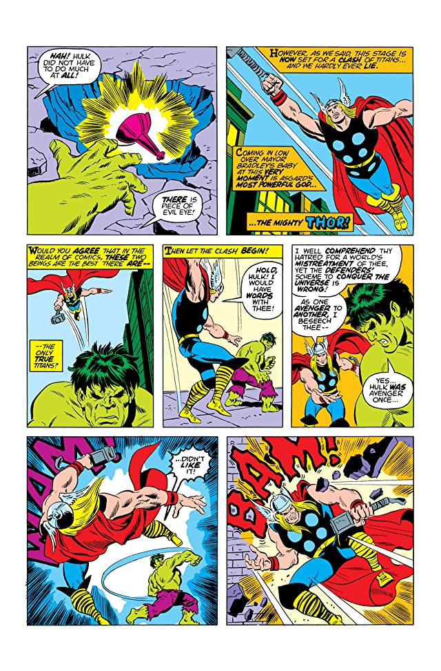 click for super-sized previews of Defenders (1972-1986) #10