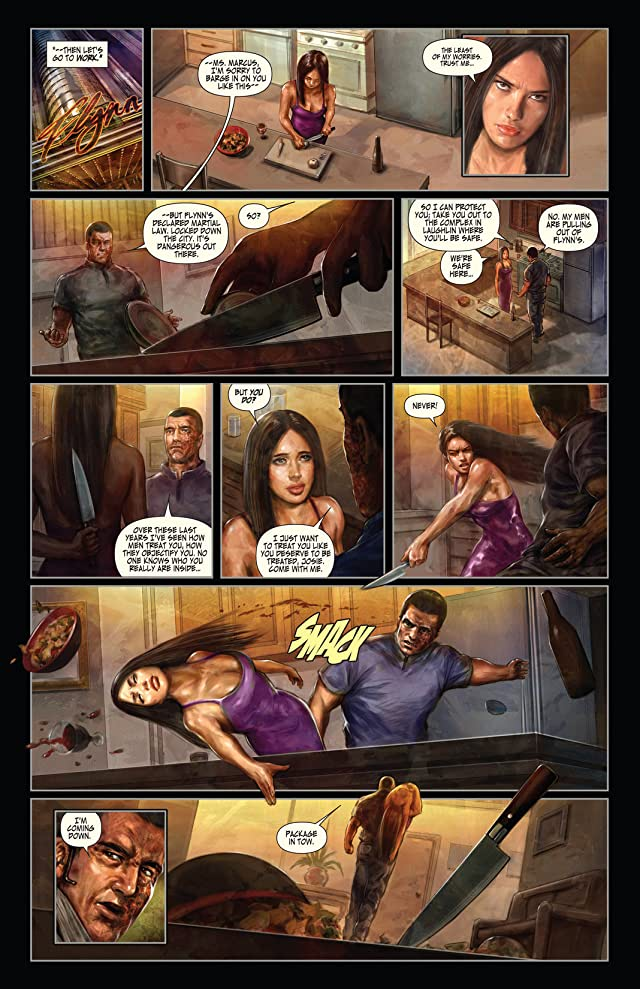 click for super-sized previews of Earp: Saints For Sinners #4