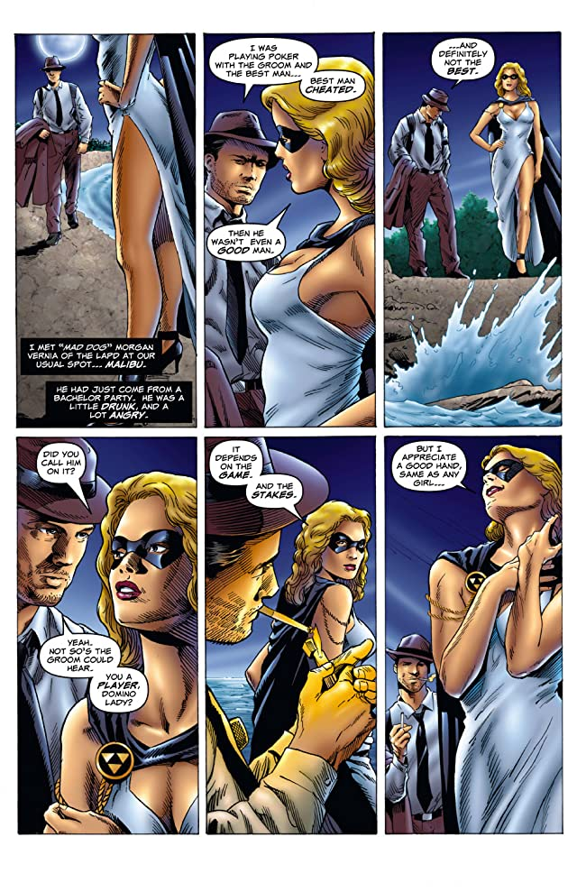 Domino Lady #4