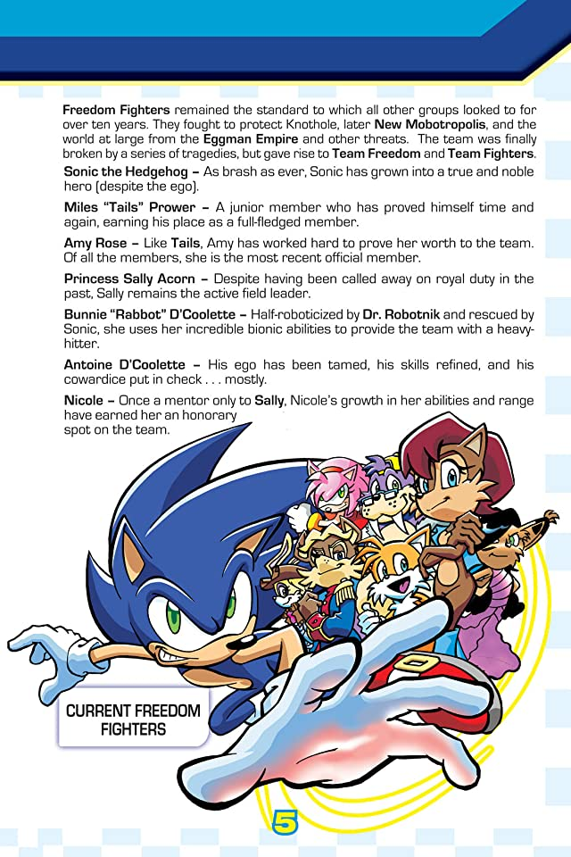 click for super-sized previews of The Complete Sonic Comic Encyclopedia