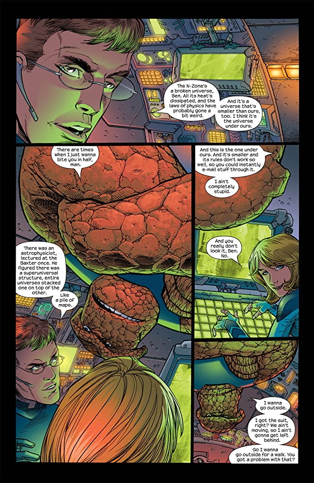 click for super-sized previews of Ultimate Fantastic Four #15