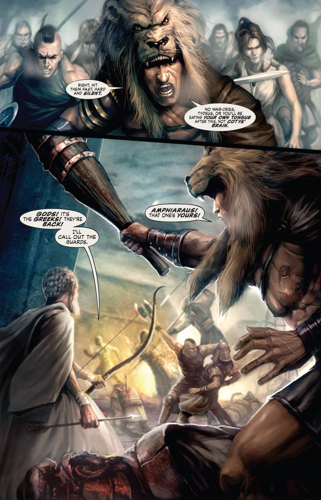 Hercules: The Thracian Wars #5 (of 5)