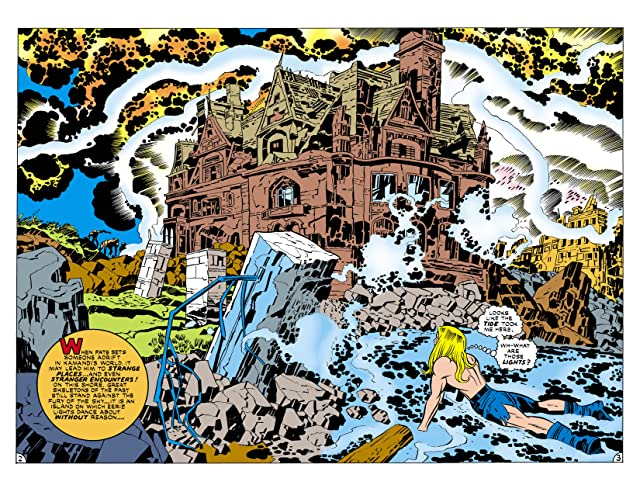 click for super-sized previews of Kamandi: The Last Boy on Earth (1971-1978) #24