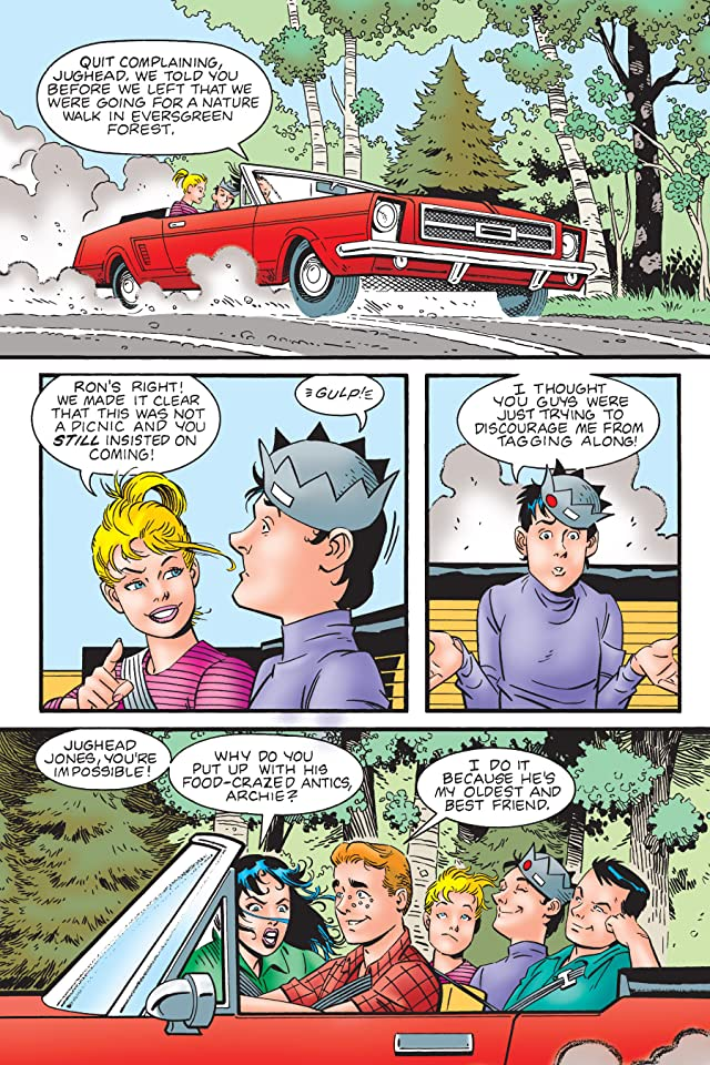 click for super-sized previews of Archie New Look Series - Book 4: Veronica My Father's Betrayal