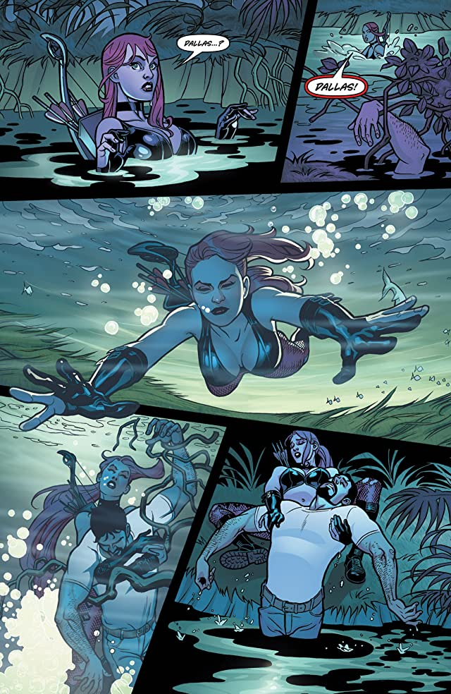click for super-sized previews of Danger Girl: Trinity #2