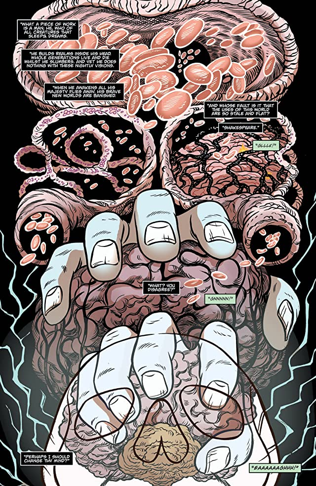 click for super-sized previews of Kill Shakespeare: The Tide of Blood #4