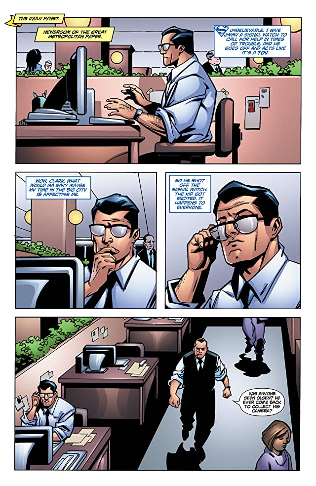click for super-sized previews of Superman Confidential #14