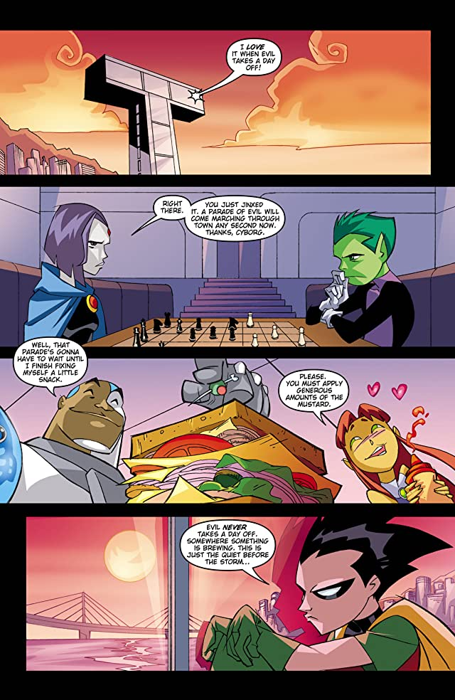 click for super-sized previews of Teen Titans Go! (2004-2008) #35