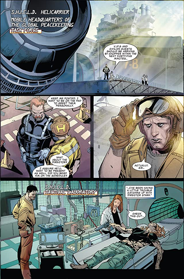 click for super-sized previews of Iron Man: Director of S.H.I.E.L.D. #16