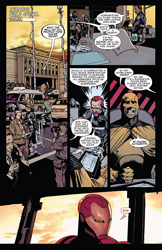 Iron Man: Director of S.H.I.E.L.D. #22