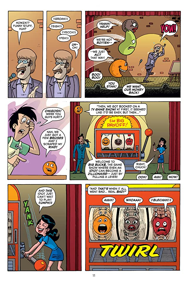 click for super-sized previews of Annoying Orange Vol. 2: Orange You Glad You're Not Me? Preview