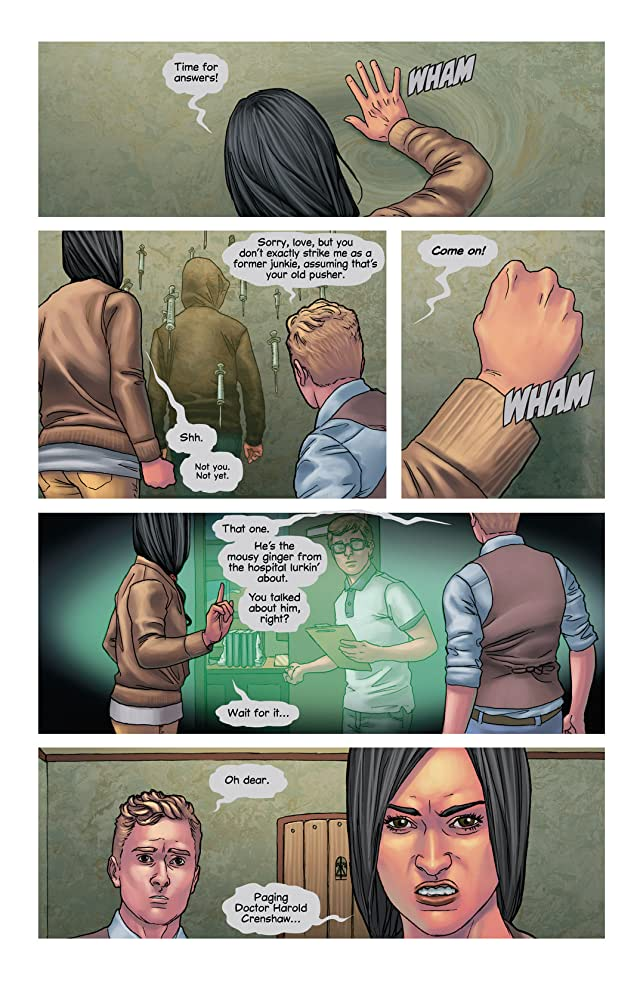click for super-sized previews of Mind the Gap #10