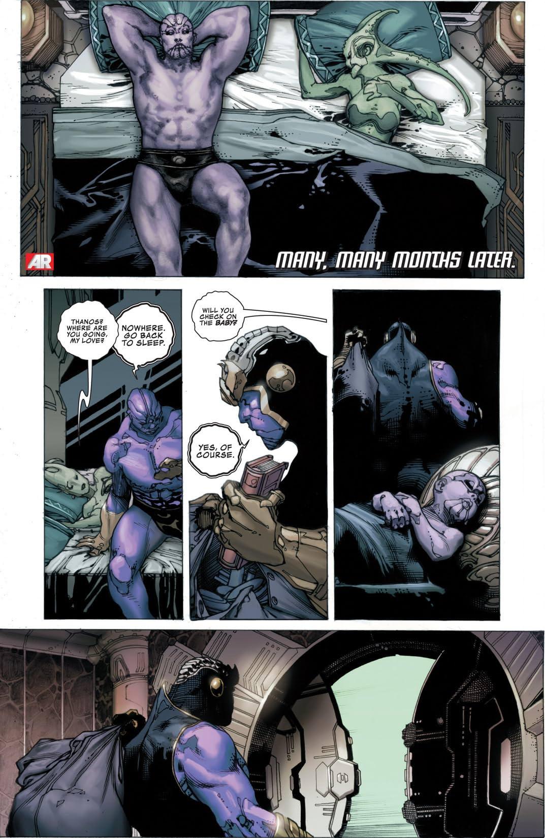 Thanos Rising #3 (of 5)