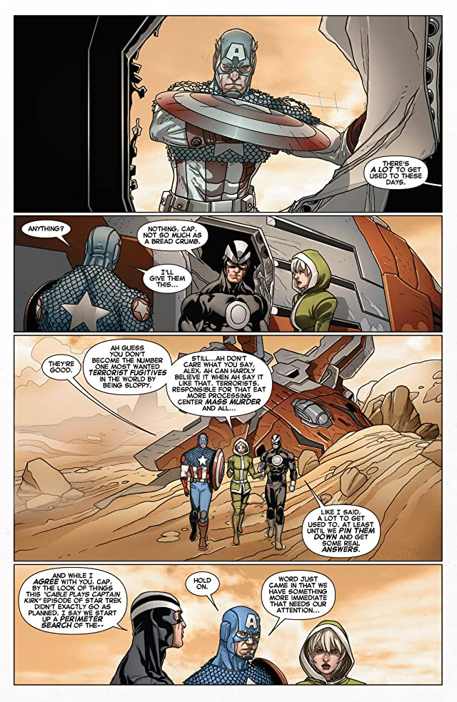click for super-sized previews of Cable and X-Force #9